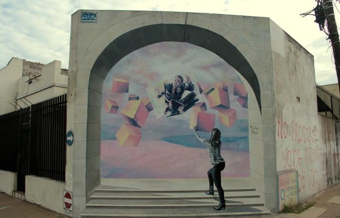 Mural de Martin Ron. Foto: BA Street Art
