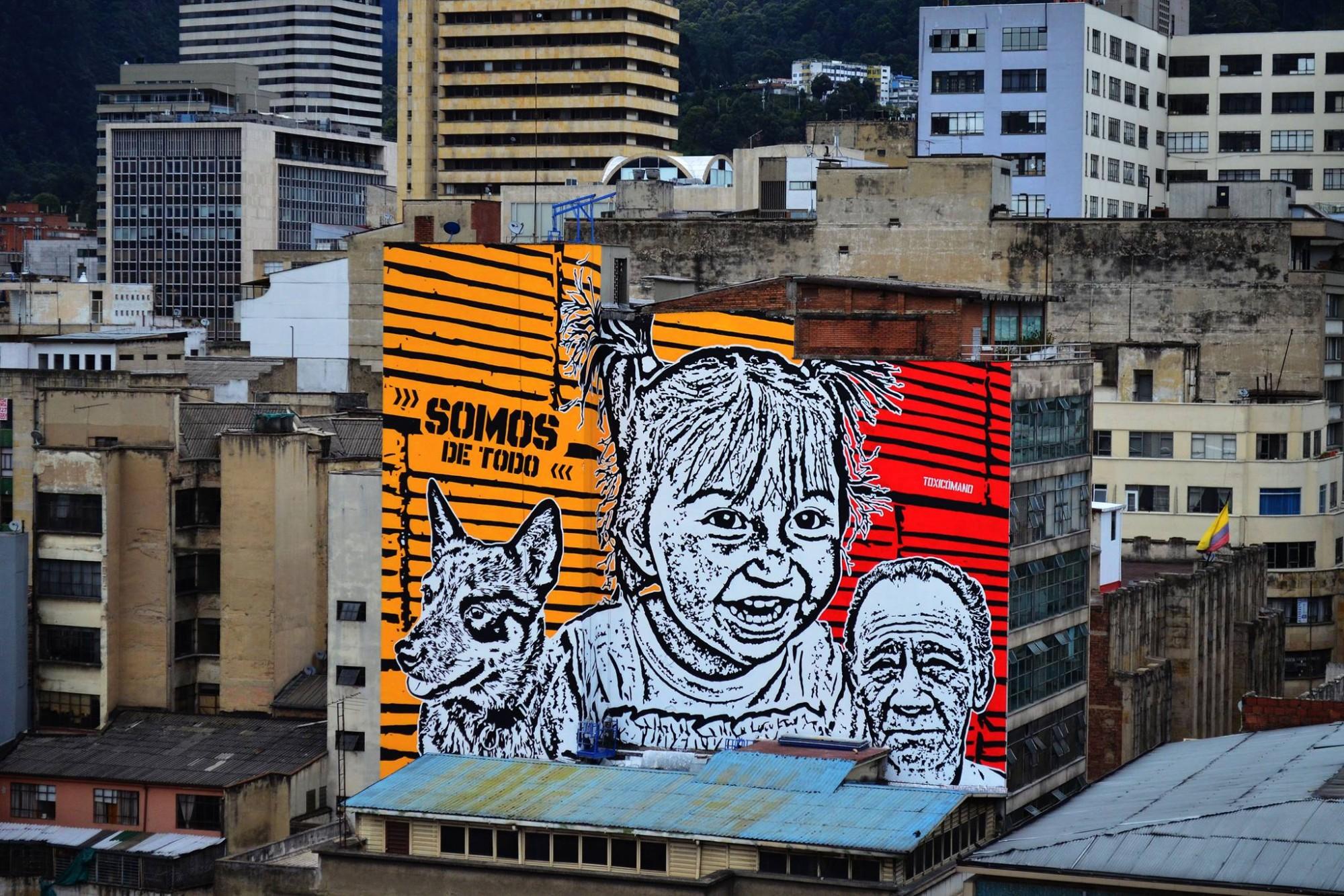 Mural de Toxicómano. Foto: Cortesía del autor