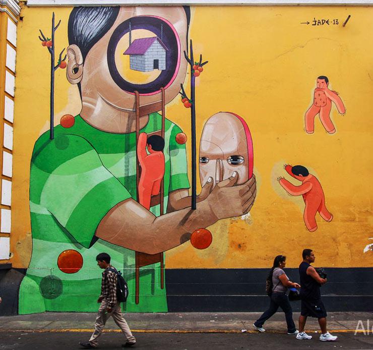 Mural de Jade para Latido Americano