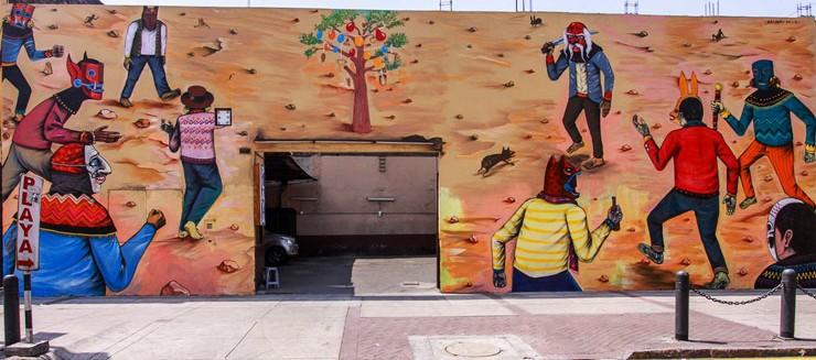 Mural de Saner para Latido Americano.