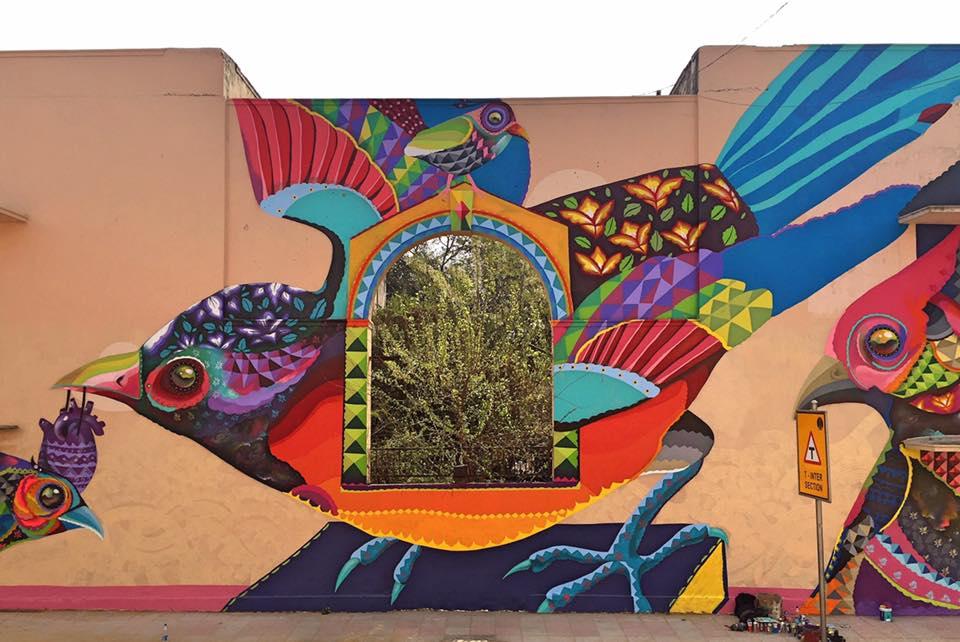 Mural de Senkoe en Lodhy Colony