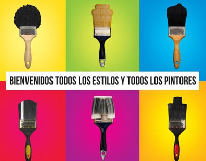 Publicidad de pinturas Osel.