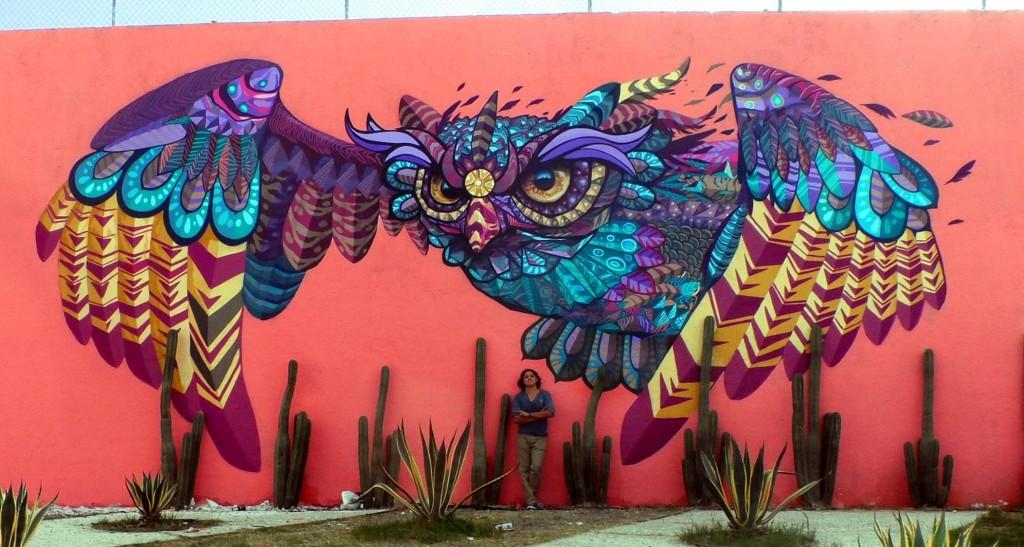 Tecolotl. Querétaro, 2015. Foto: Cortesía de Farid Rueda