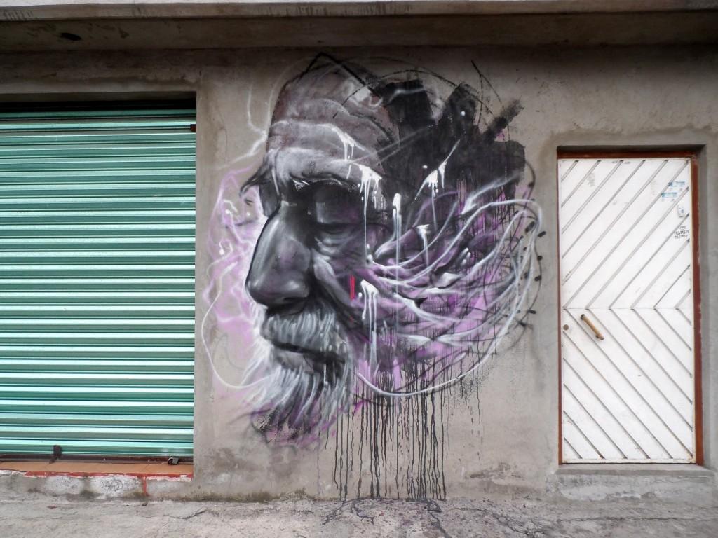The world is my canvas. Tláhuac, Ciudad de México, 2014. Foto: Cortesía Farid Rueda