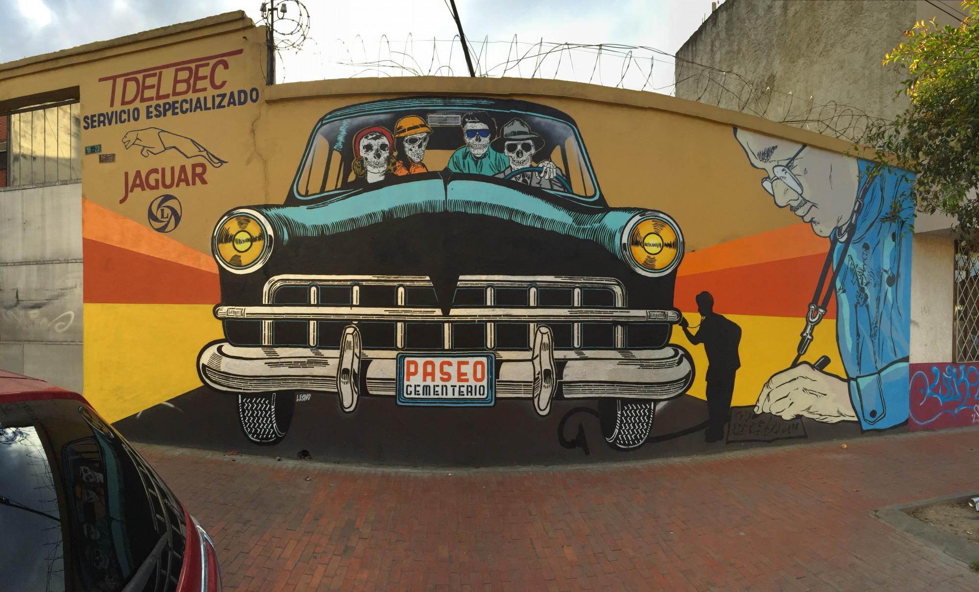 Mural de Lesivo. Foto: Cortesía del autor