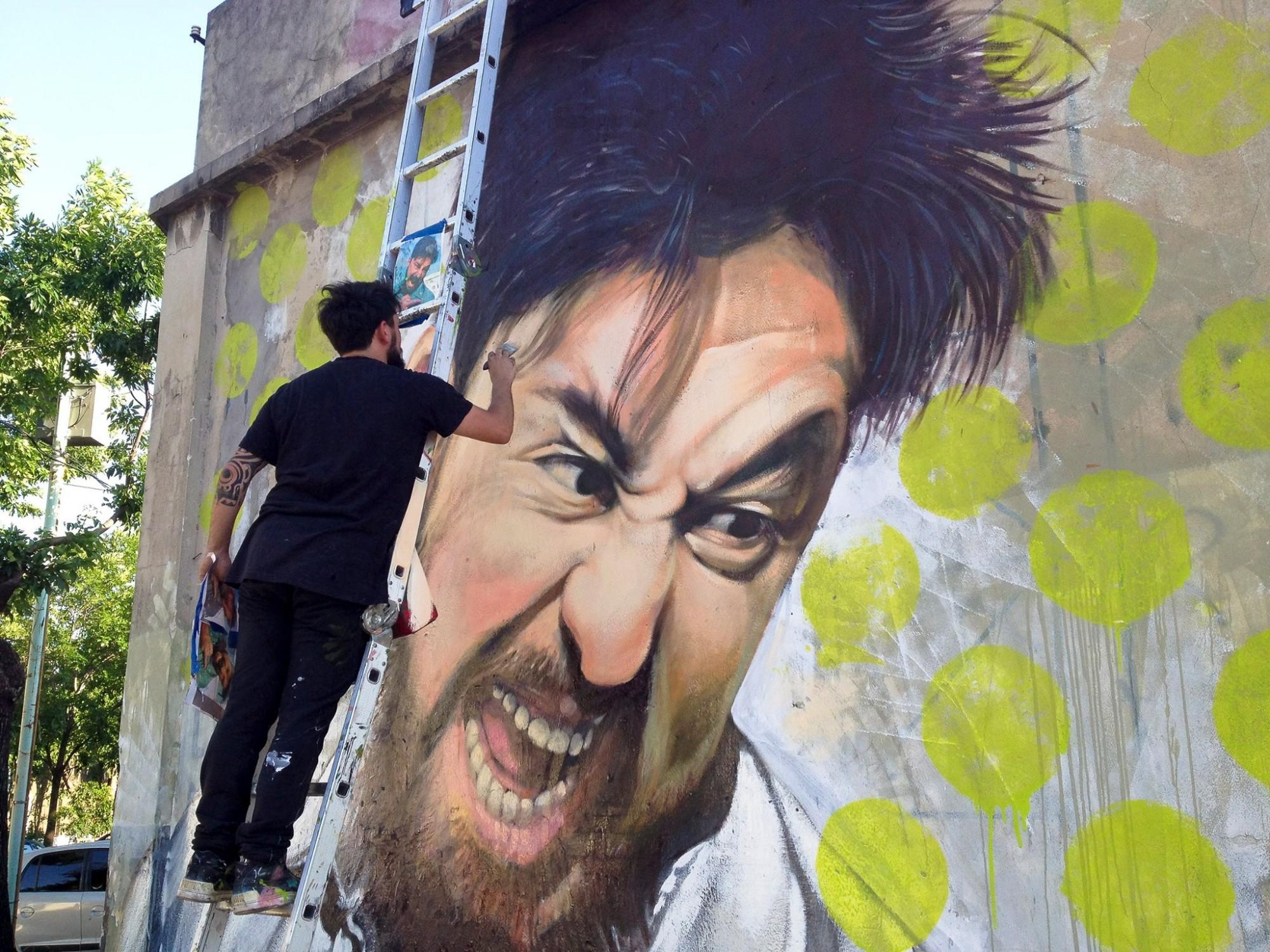 Auterretrato de Martin Ron para la revista Art Democracy. Foto: cortesía de Martin Ron