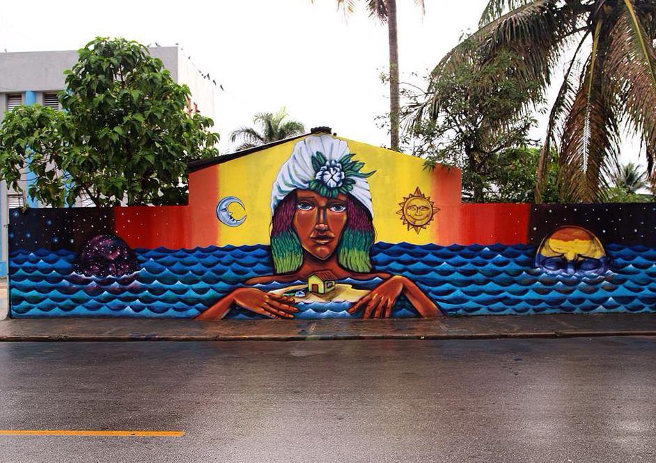 Mural de Entes en República Dominicana para Artesano Project